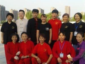 Katrin Heilmaier und Chinesen, Gruppenfoto