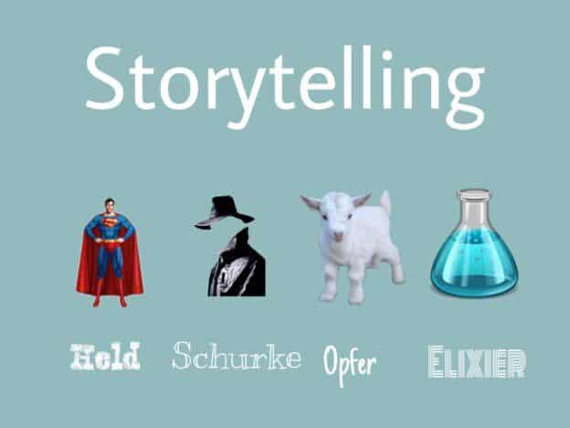 Protagonisten des Storytelling